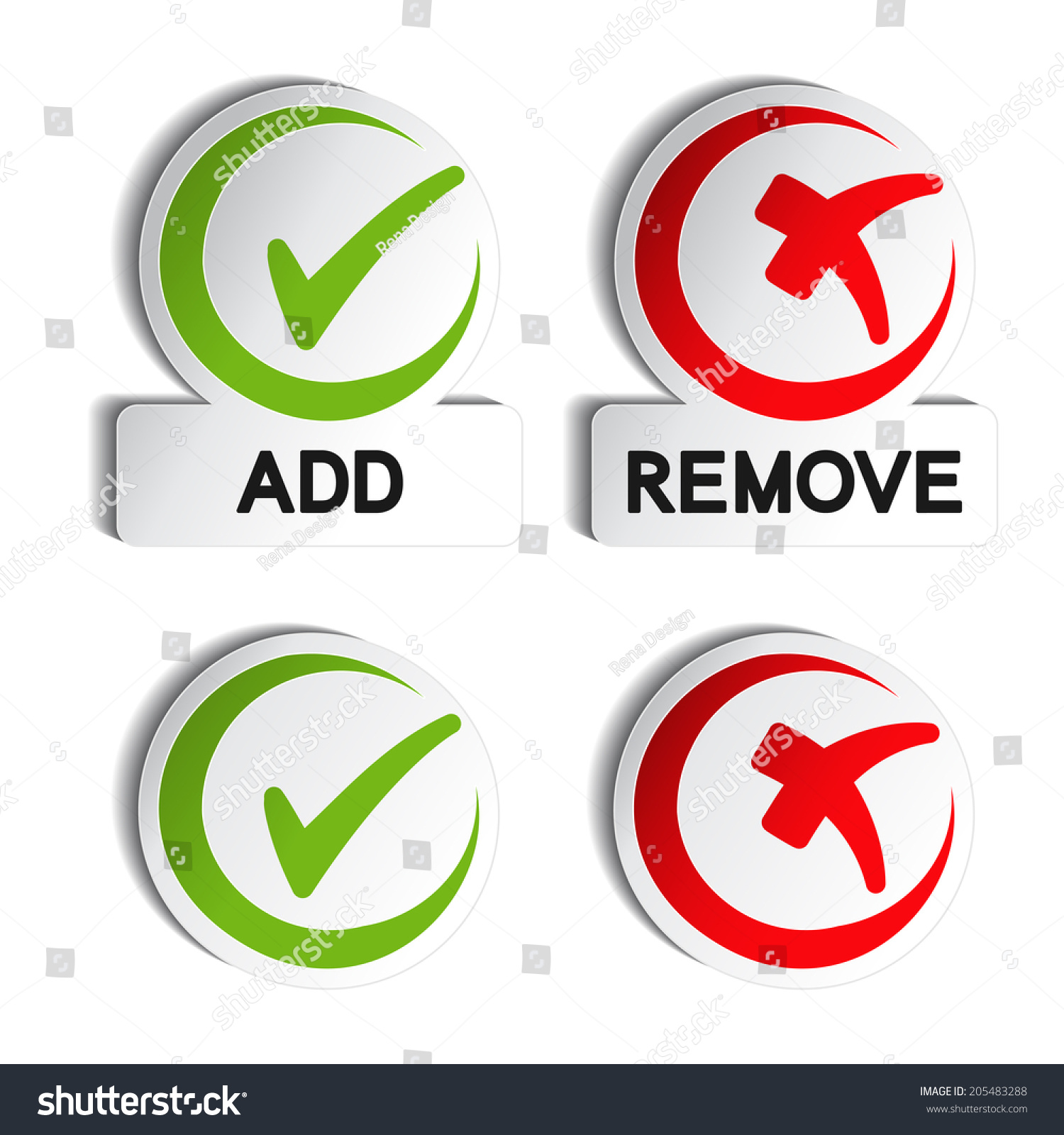 Add remove circular item check mark stock illustration 205483288 add remove circular item check mark symbols buycottarizona