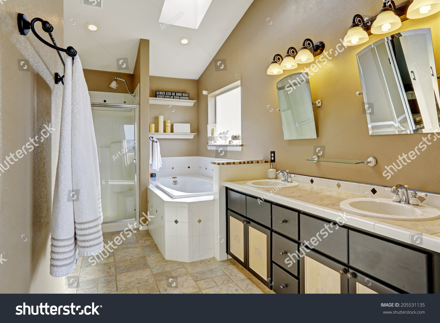 House Interior View Entrance Hall Small Buildings Landmarks Stock Image 205531135