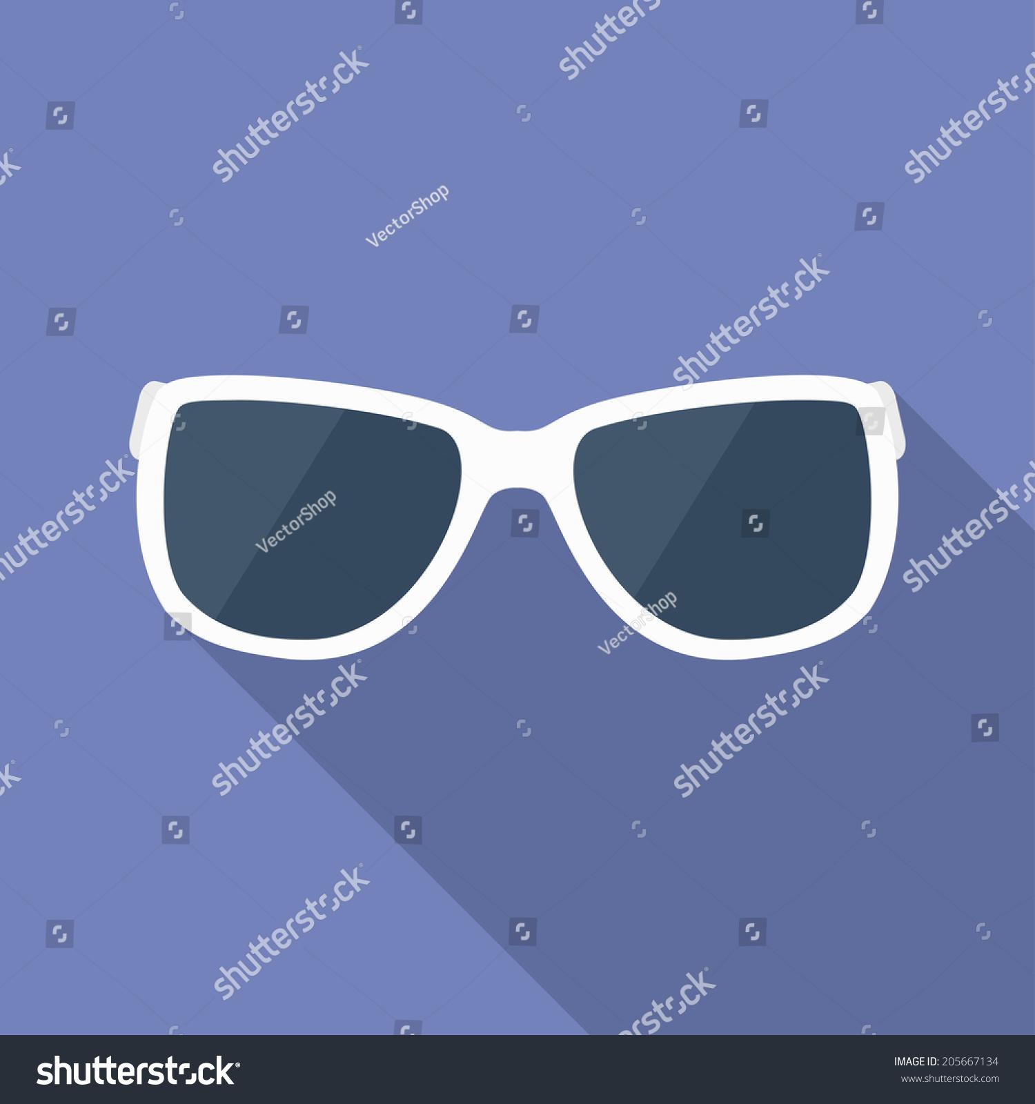 Sunglasses Icon Glasses Symbol Stock Vector 205667134 Shutterstock