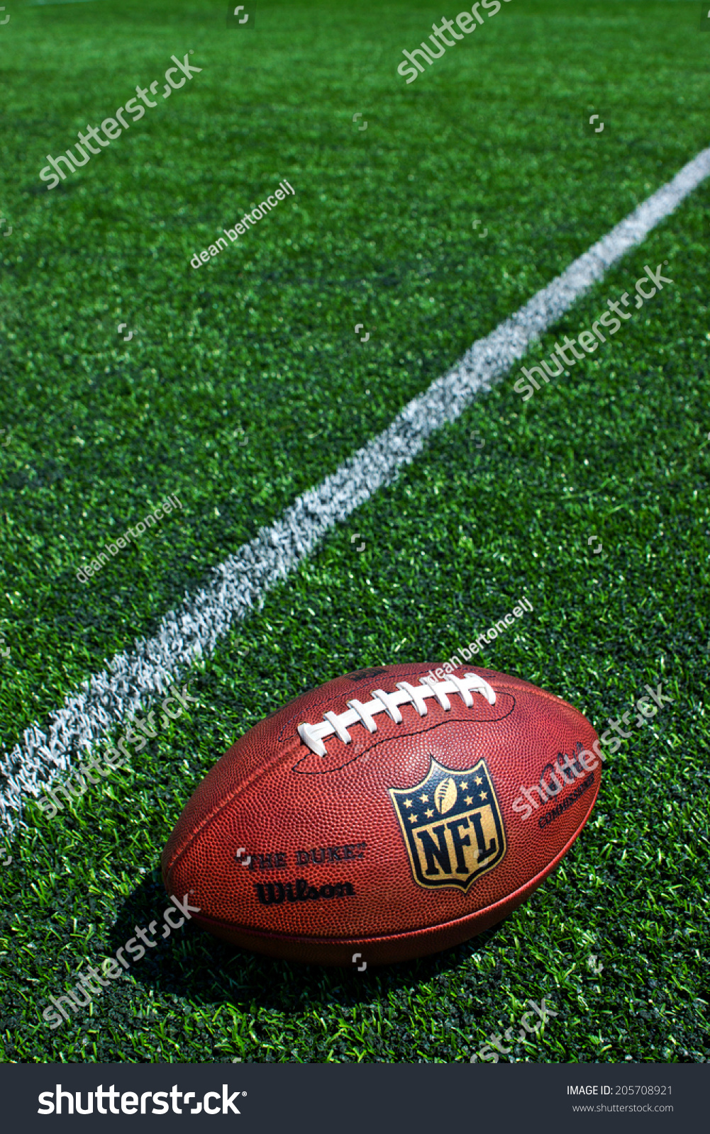 Nfl Football Grass Bac...