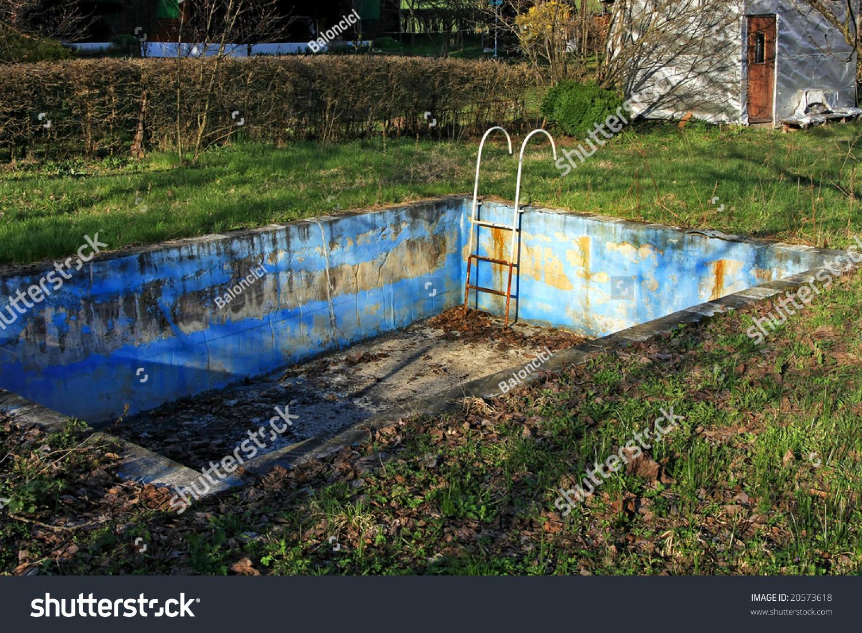 Abandoned swimming pool bad rusty condition stock photo 20573618 shutterstock - Bad homburg swimming pool ...