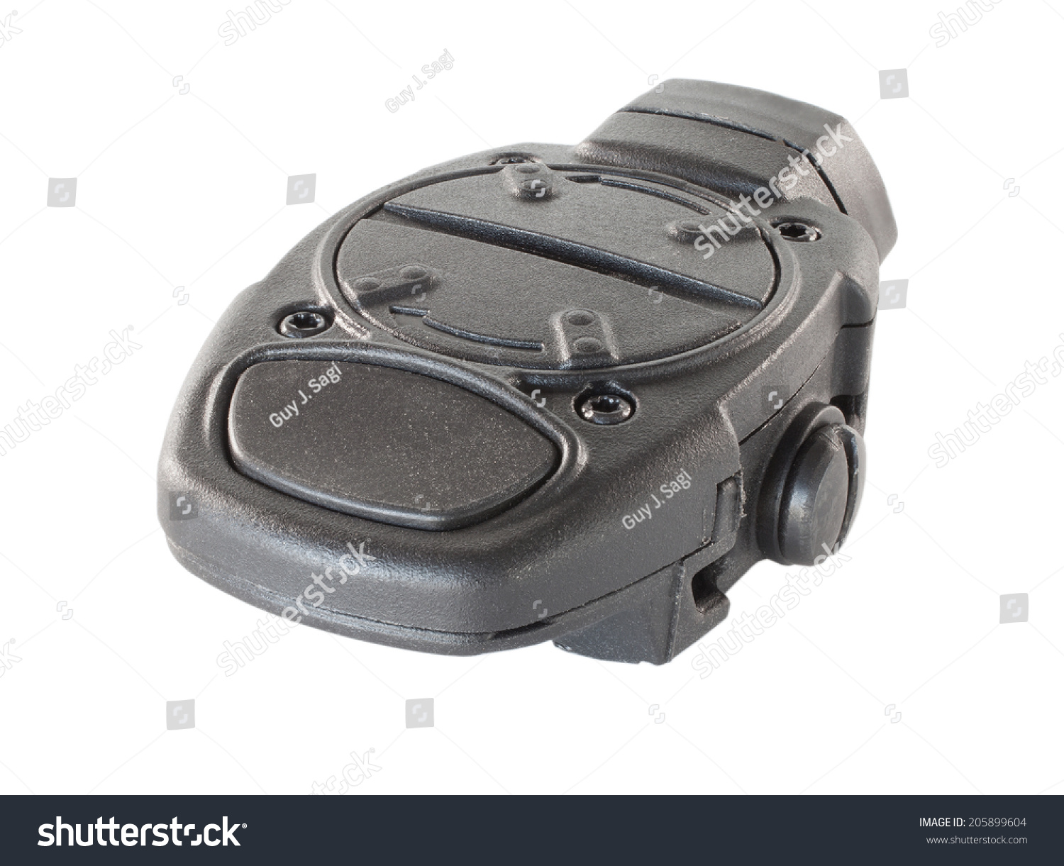 Weaponlight Recessed Switch Seen Back Side Stock Photo 205899604 ...