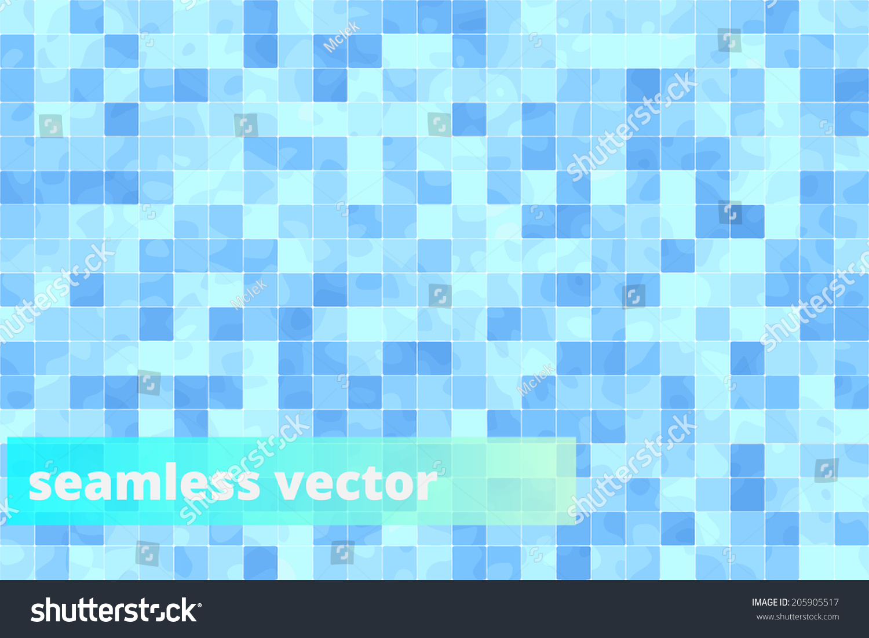 Seamless Bathroom Tiles Floor Vector Pattern Stock Vector 205905517 ...
