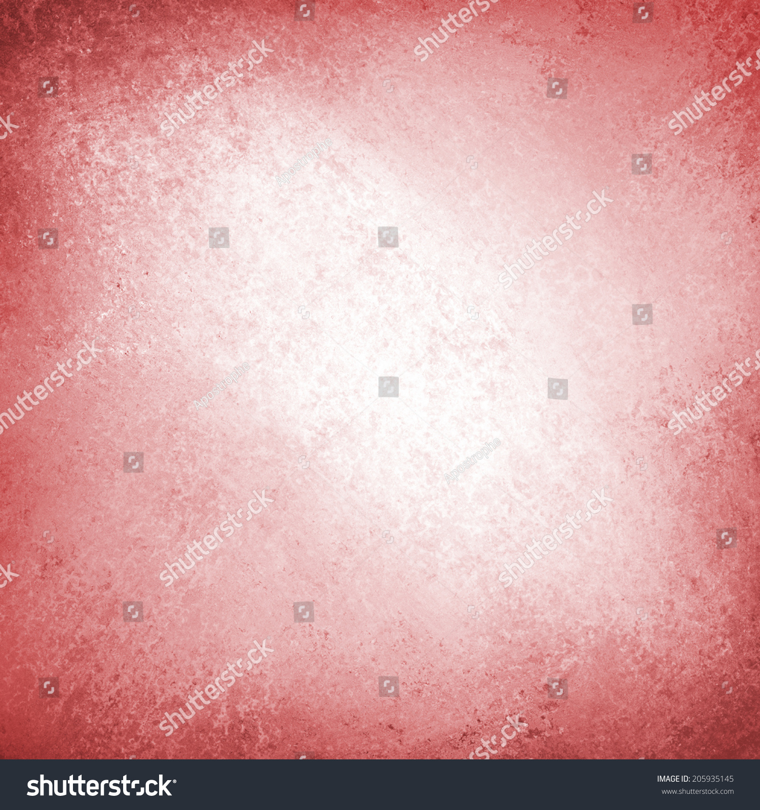 Bright Pink Paint Abstract Red Background White Center Design Stock Illustration