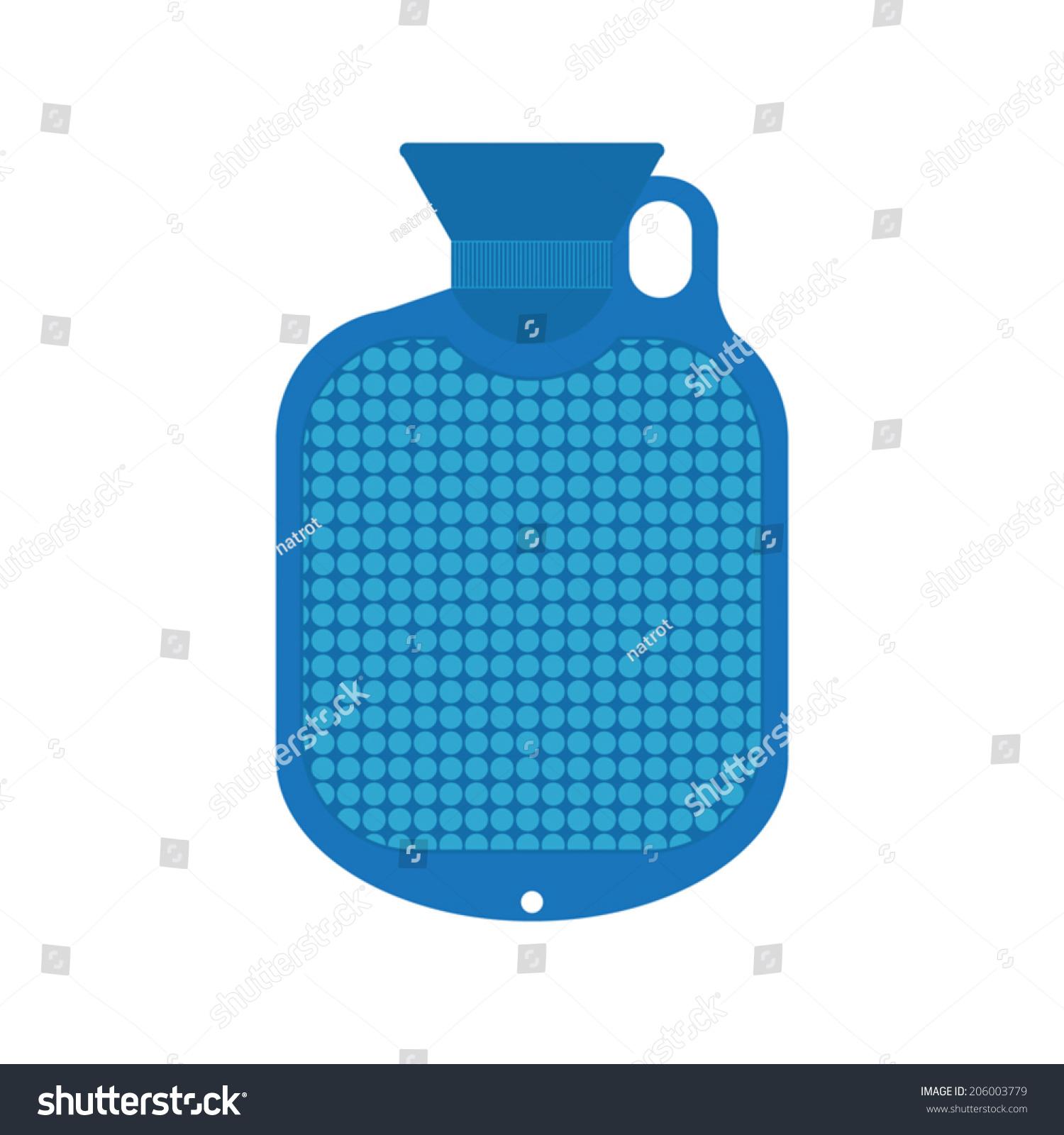Stock Vector Hot Water