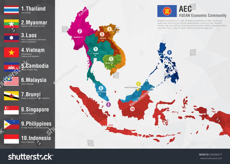 Aec asean economic community world map vectores en stock 206006677 aec asean economic community world map vectores en stock 206006677 shutterstock gumiabroncs Gallery