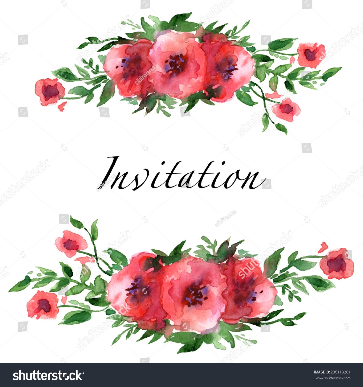 flower border template