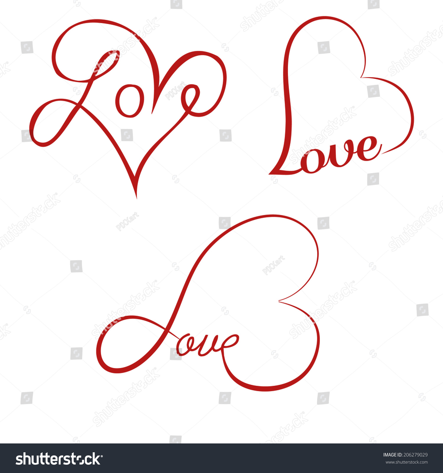 Image gallery love calligraphy