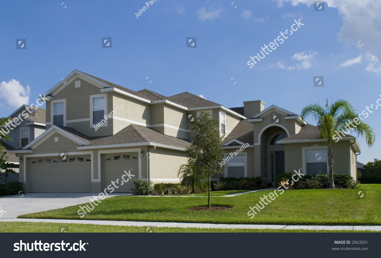 rural home on sunny day florida stock photo 2063501