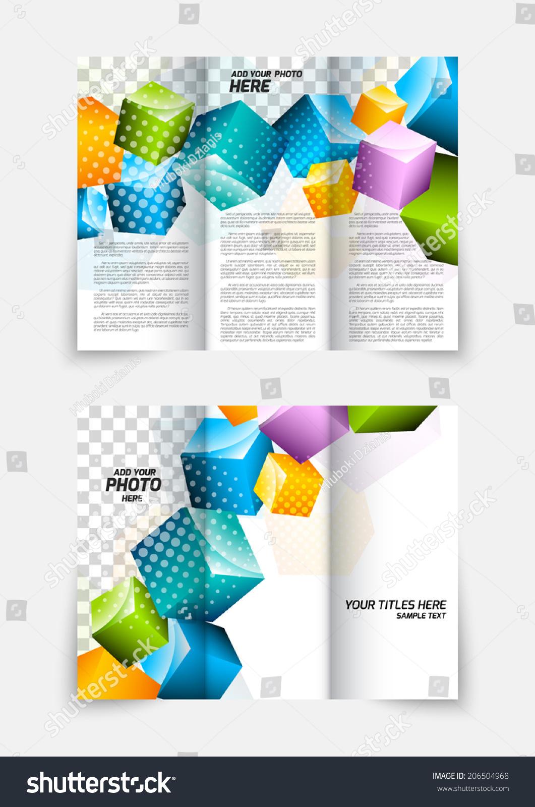 3D Brochure Template