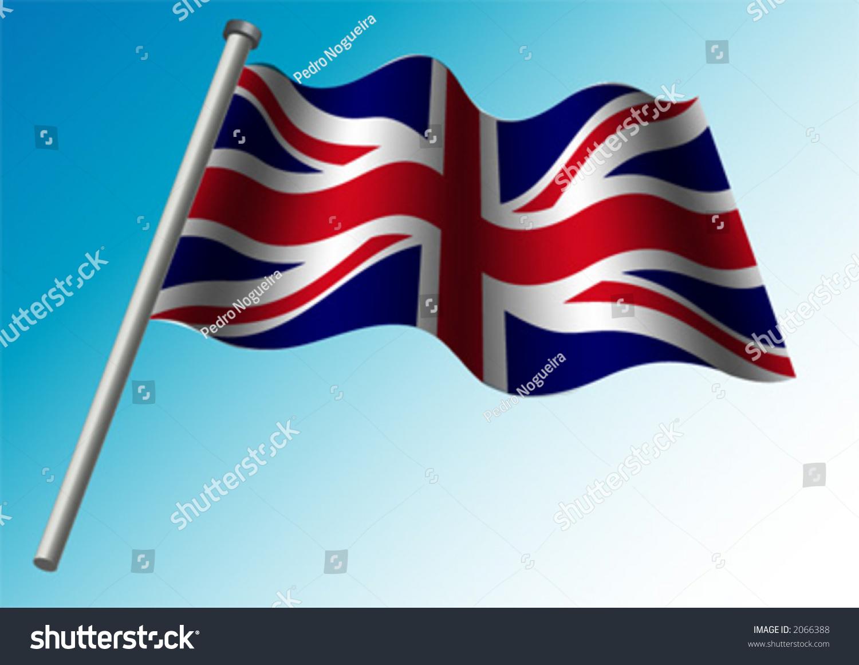great britain flag union jack flag stock vector 2066388 shutterstock