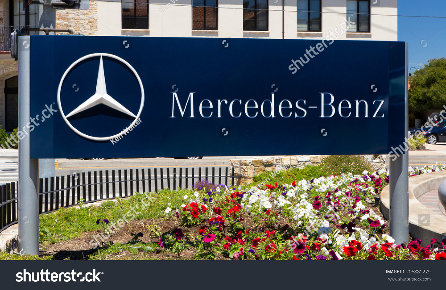 Monterey ca usa july 23 2014 mercedes benz automobile for Mercedes benz of monterey monterey ca