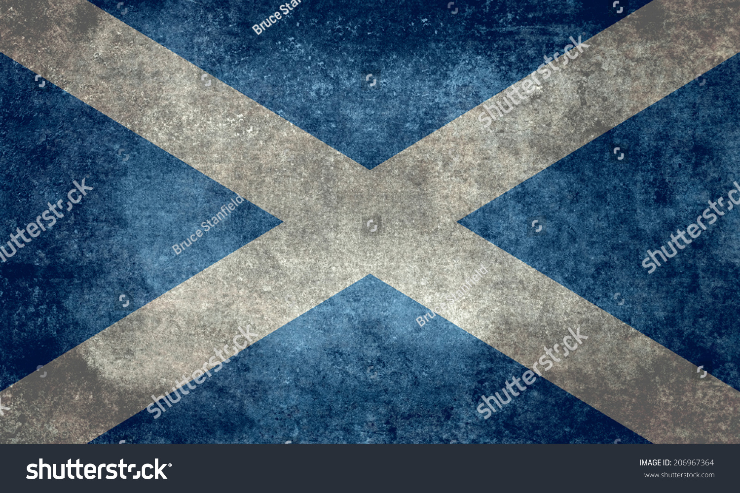 what is the national flag of scotland