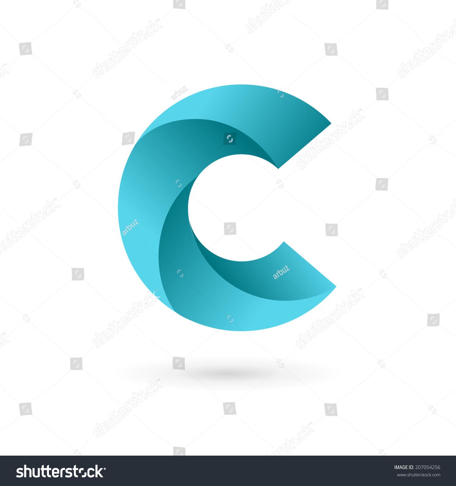 Letter C Logo Icon Design Template Stock Vector 207054256 ...