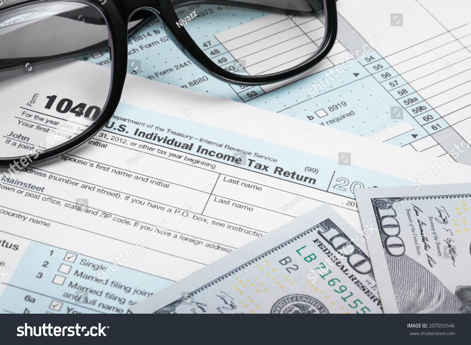Tax on stock options usa