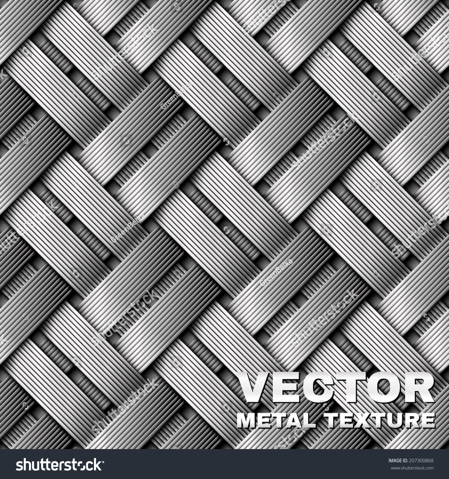 Cable Braided Sleeve Seamless Texture Stock Vector 207300868 ...