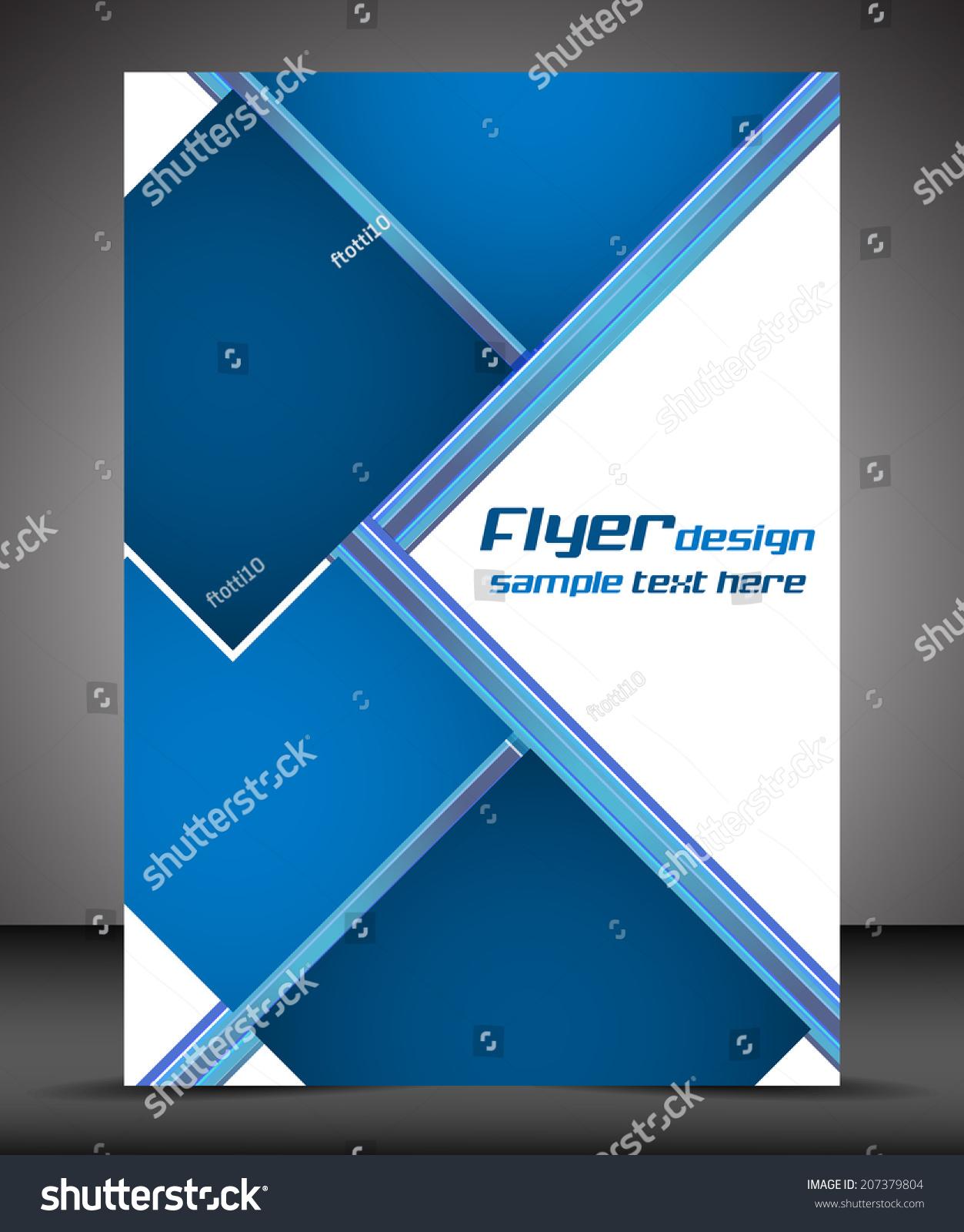 sample business flyers design