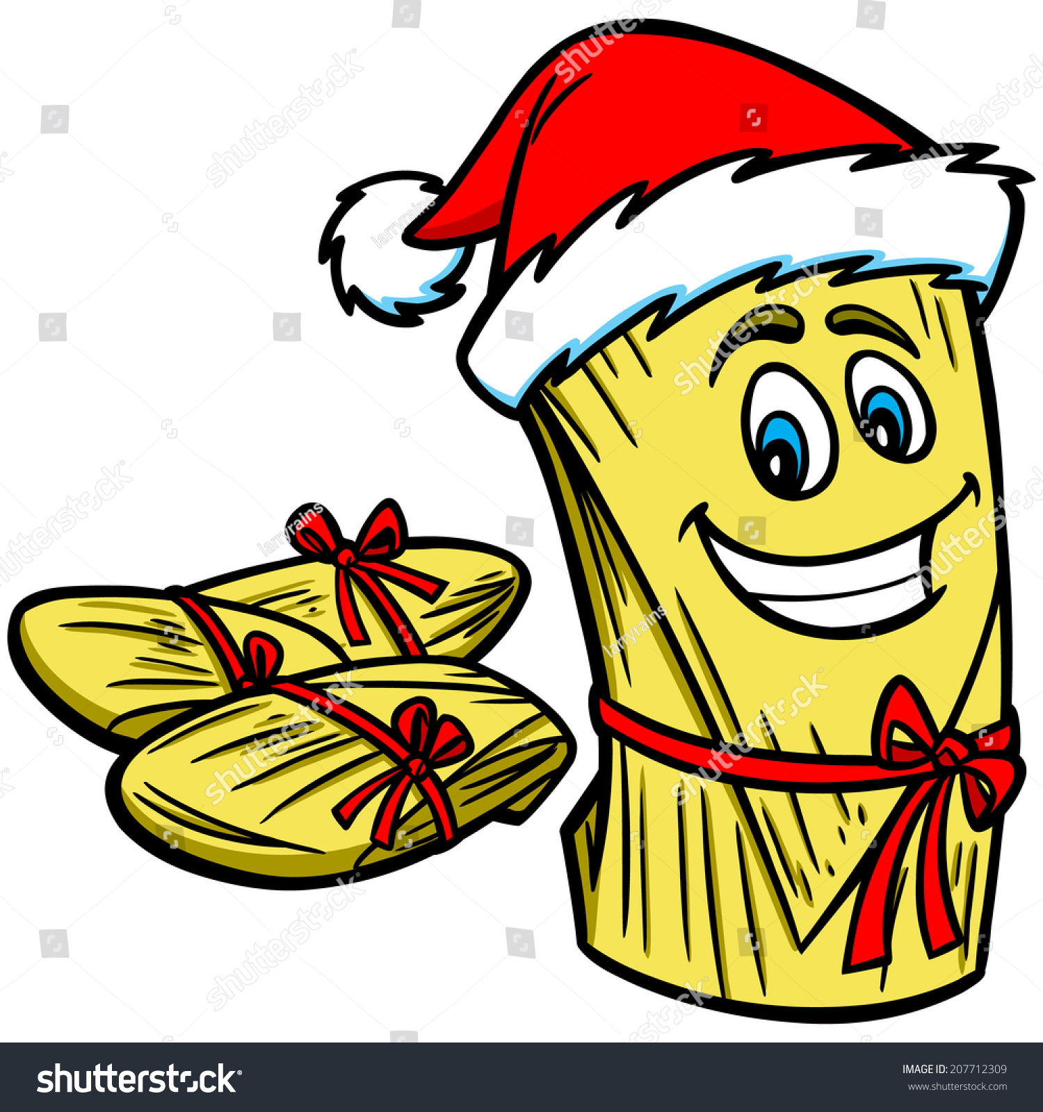 christmas tamales stock vector 207712309 shutterstock mad clip art picture mad clip art free