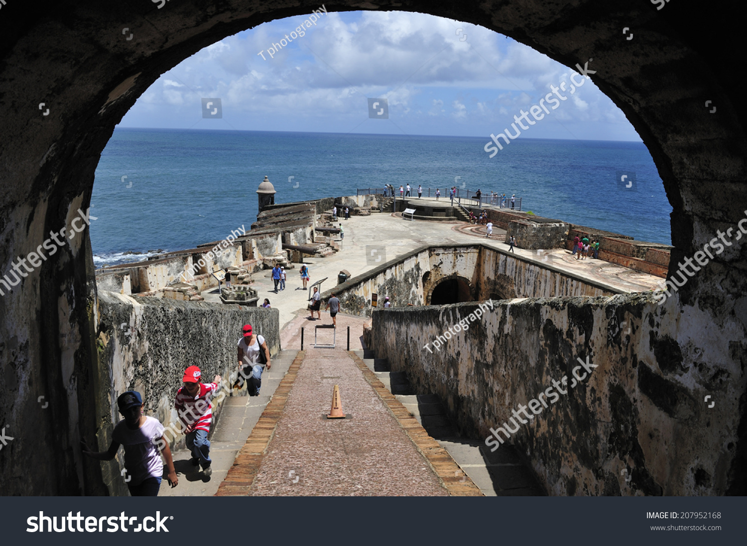 San juan puerto rico june 18 stock photo 207952168 for Del website