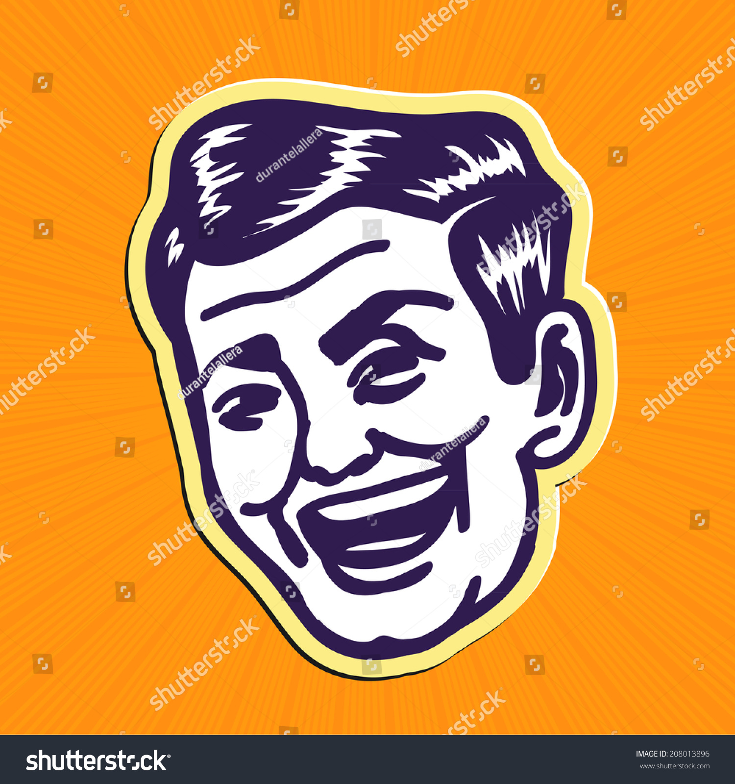 Handsome Clipart