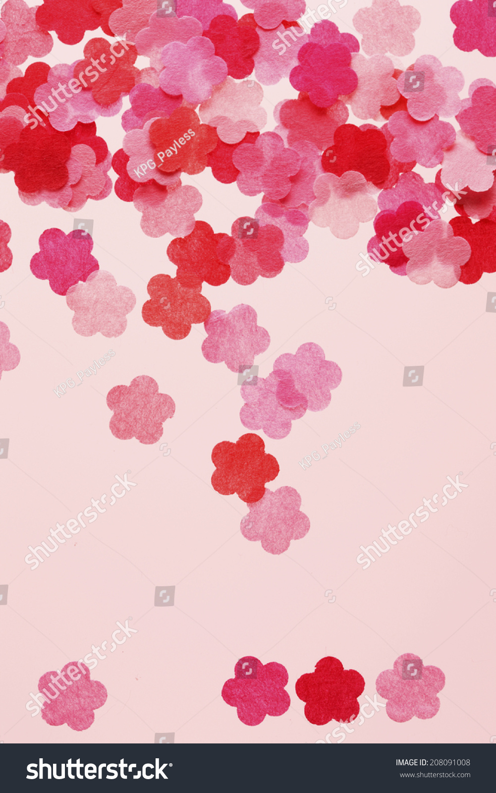 Japanese Apricot Paper Flower Stock Photo Edit Now 208091008