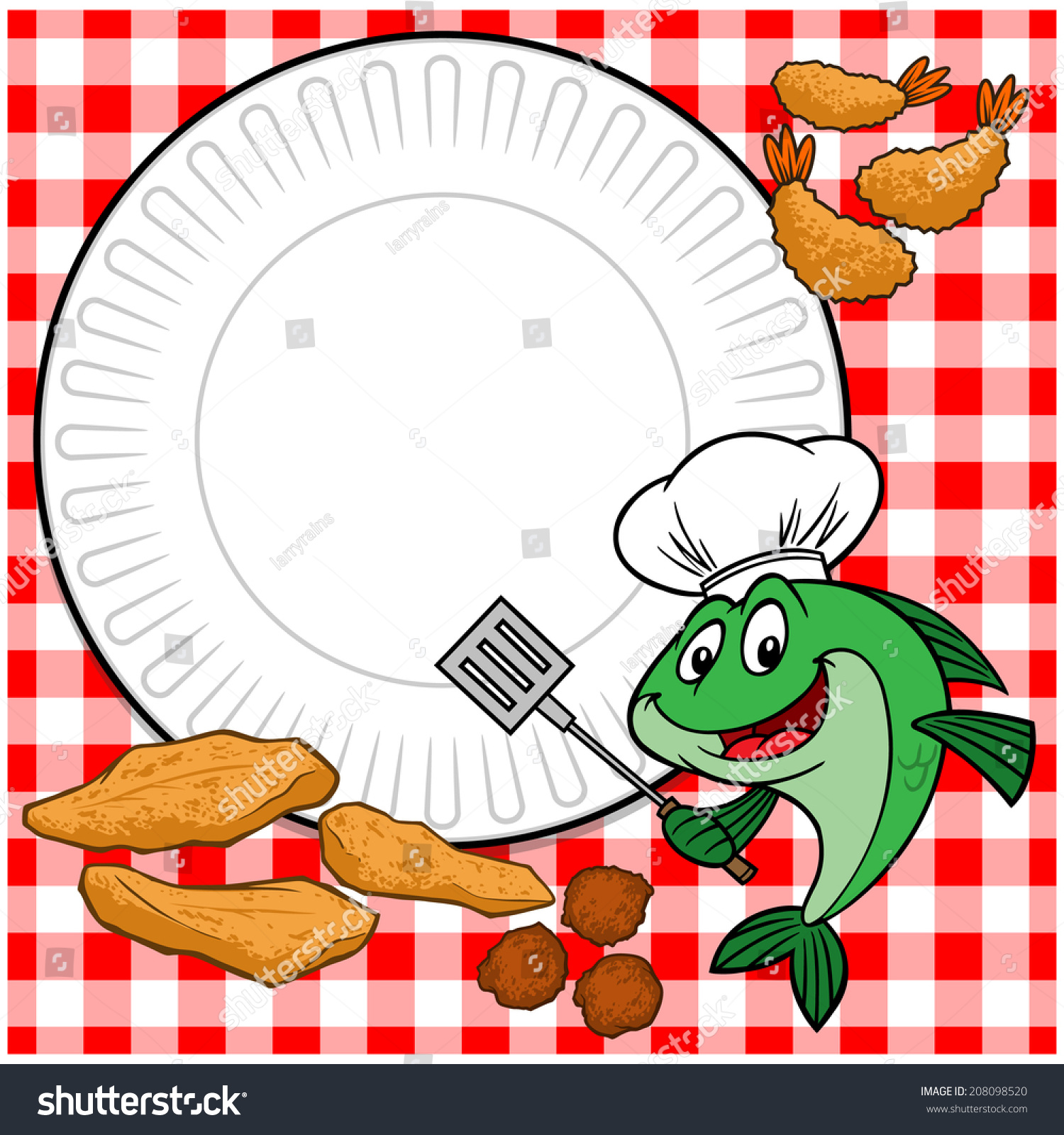 Cookout border clipart hot dog cookout invite stock vector art - Fish Cookout