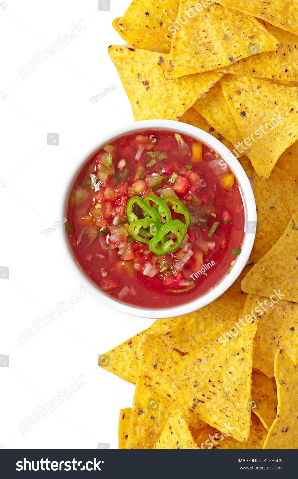 how to make fresh salsa dip