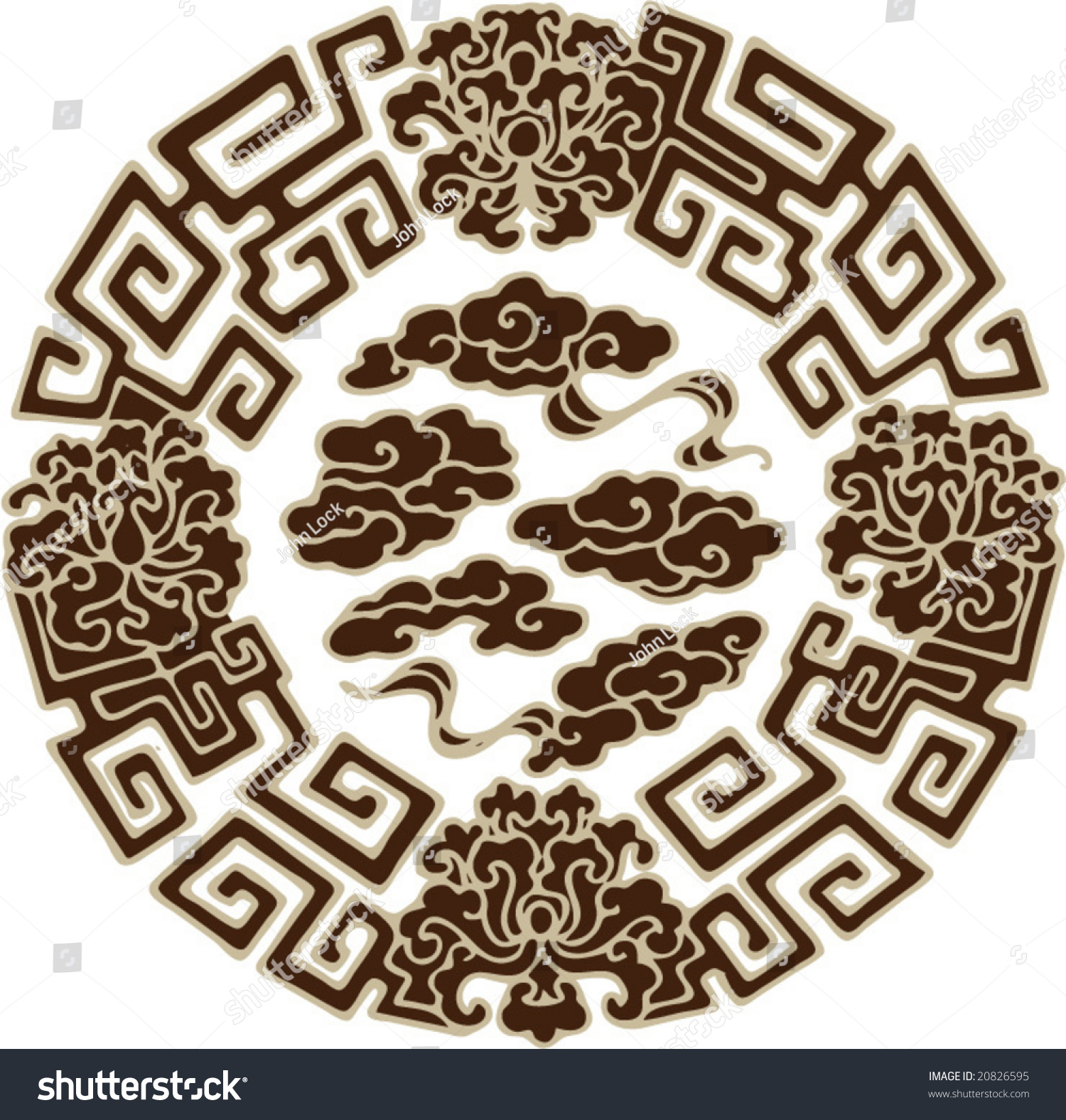 Vector Of Classical Traditional Chinese Pattern - 20826595 ...