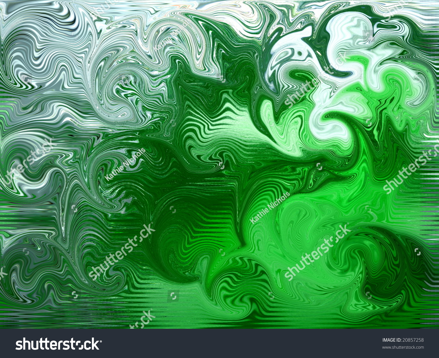 Green And White Swirl Background Stock Photo 20857258 ... Green And White Swirl Backgrounds