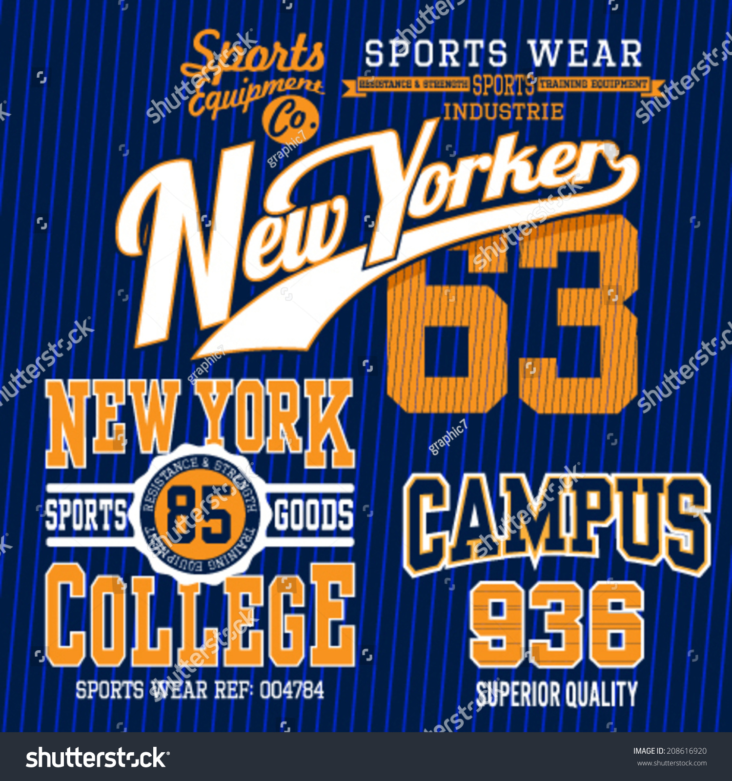 Shirt design vector pack - Set Of Sporty Looking T Shirt Design Vector Version