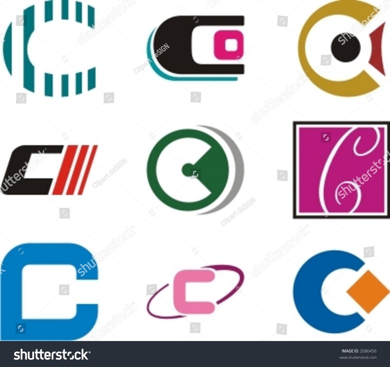 alphabetical logo design concepts letter c stock vector 2086456 alphabetical logo design concepts letter c check my portfolio for more of this series