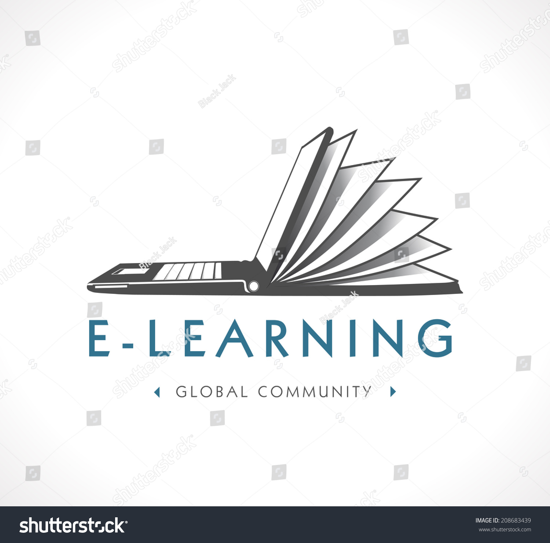 Logo Elearning Stock Vector 208683439 - Shutterstock