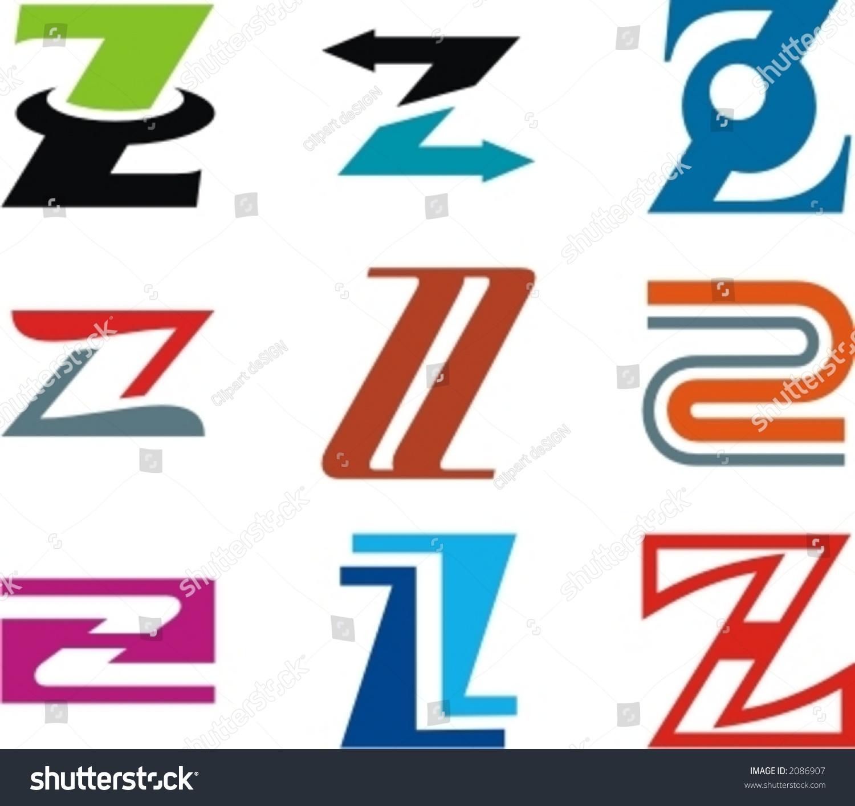 alphabetical logo design concepts letter z check my