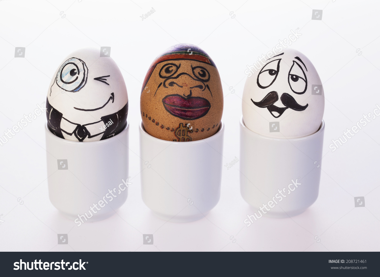 funny eggs emotion mood - photo #31