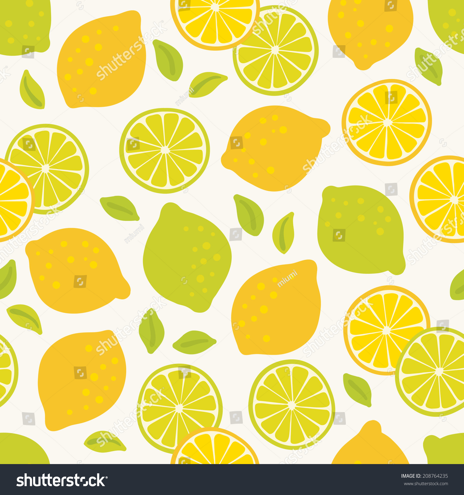 Wallpapers pattern fills web page backgrounds surface textures - Seamless Pattern With Lemons And Limes Perfect For Wallpapers Pattern Fills Web Page