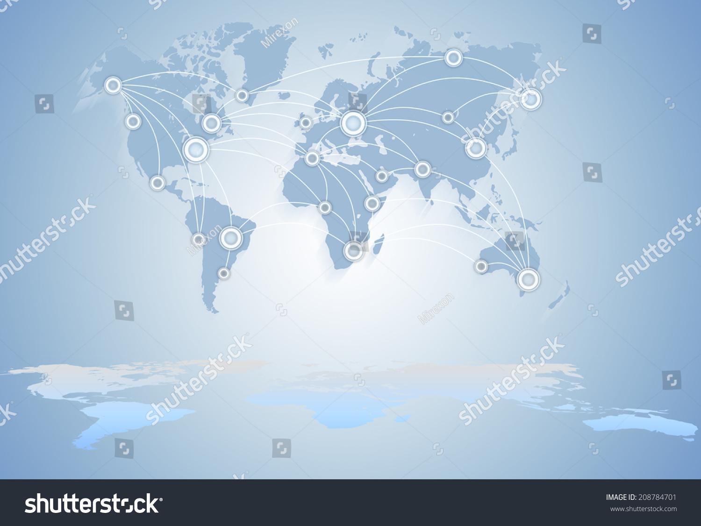 world map communications technology business global business betweenstates. world map communications technology business global stock