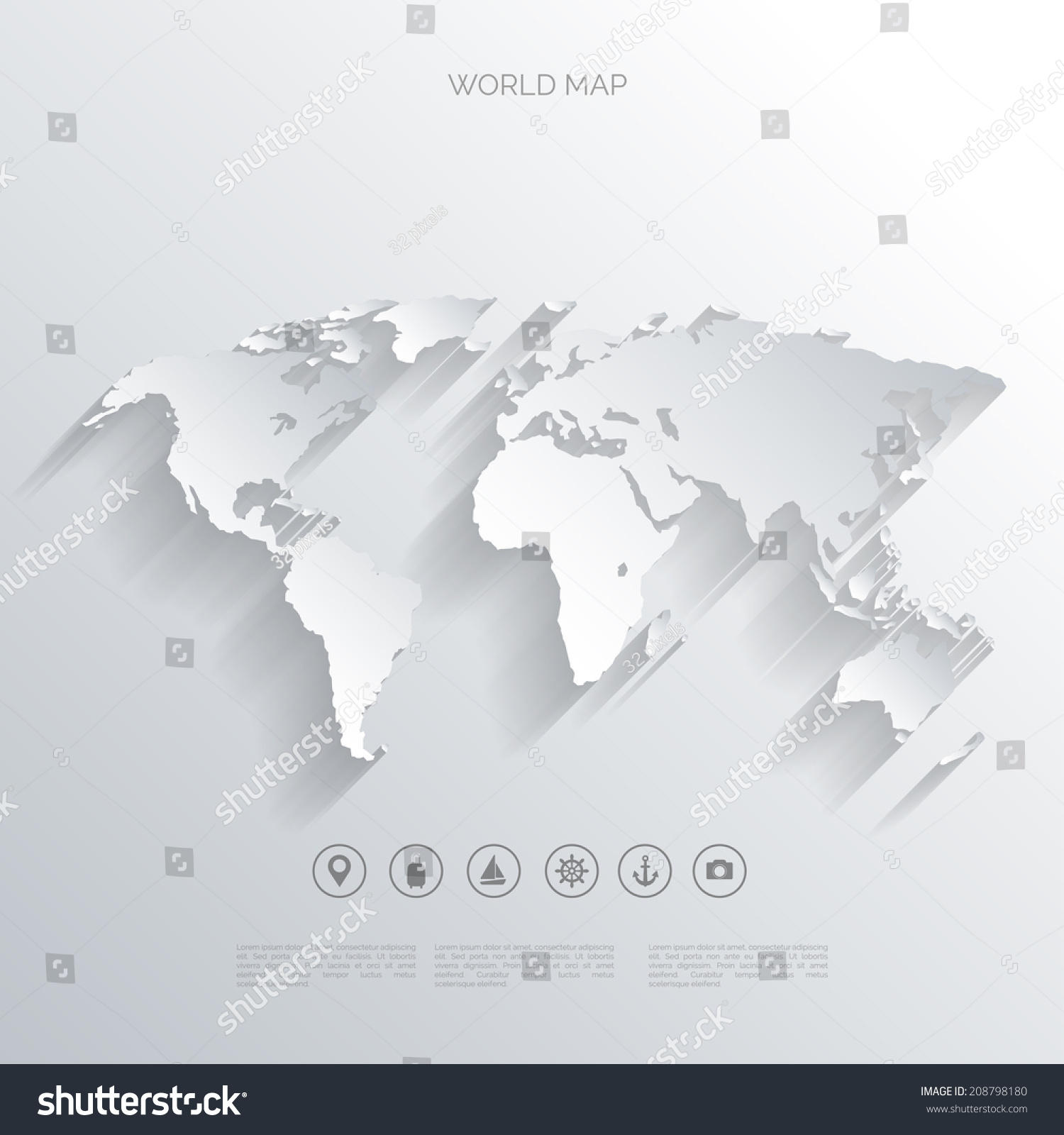 World map flat styleearthgloberoute planning asiaafricanorth world map in a flat styleearthglobeute planningp of gumiabroncs