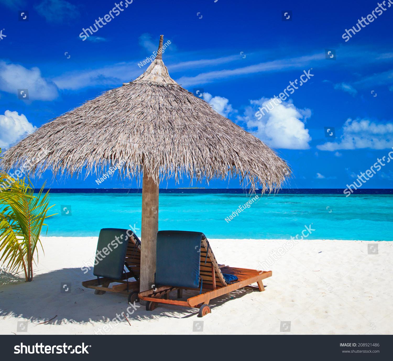 Tropical Beach Chairs Beach Chairs On Tropic...