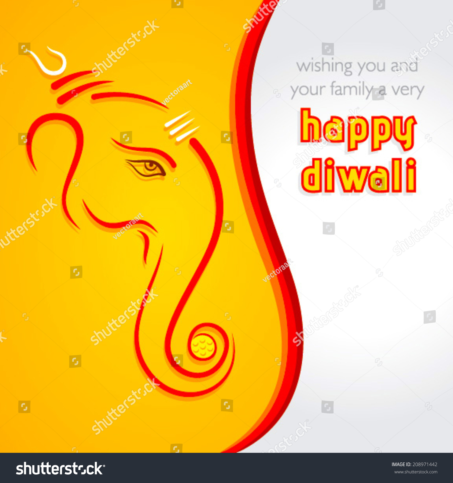 Creative happy diwali greeting card background stock vector royalty creative happy diwali greeting card background vector m4hsunfo