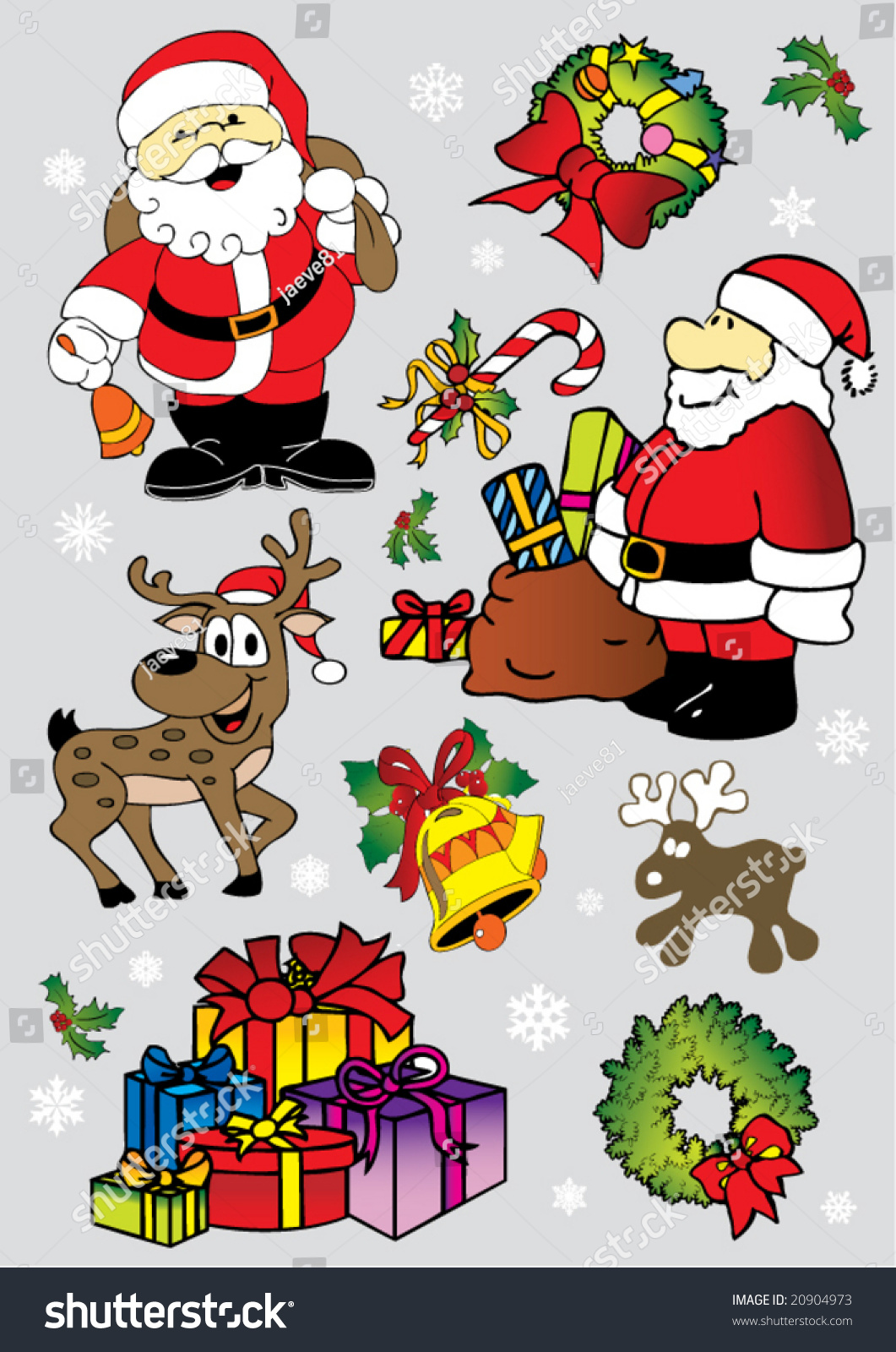 christmas clipart vector - photo #49