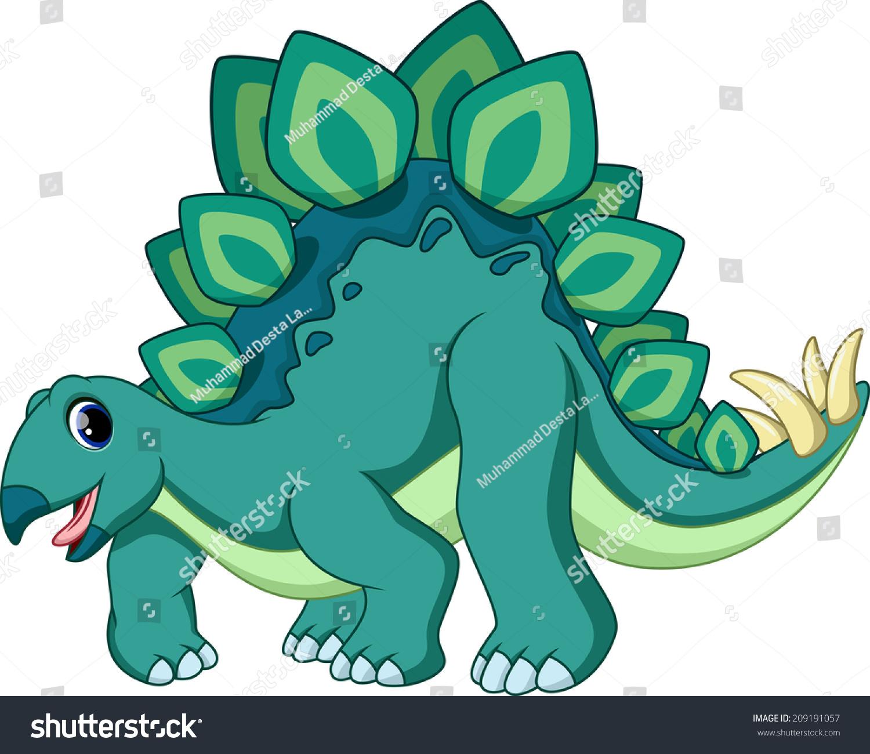 Uncategorized Cute Stegosaurus cute stegosaurus cartoon stock vector 209191057 shutterstock cartoon