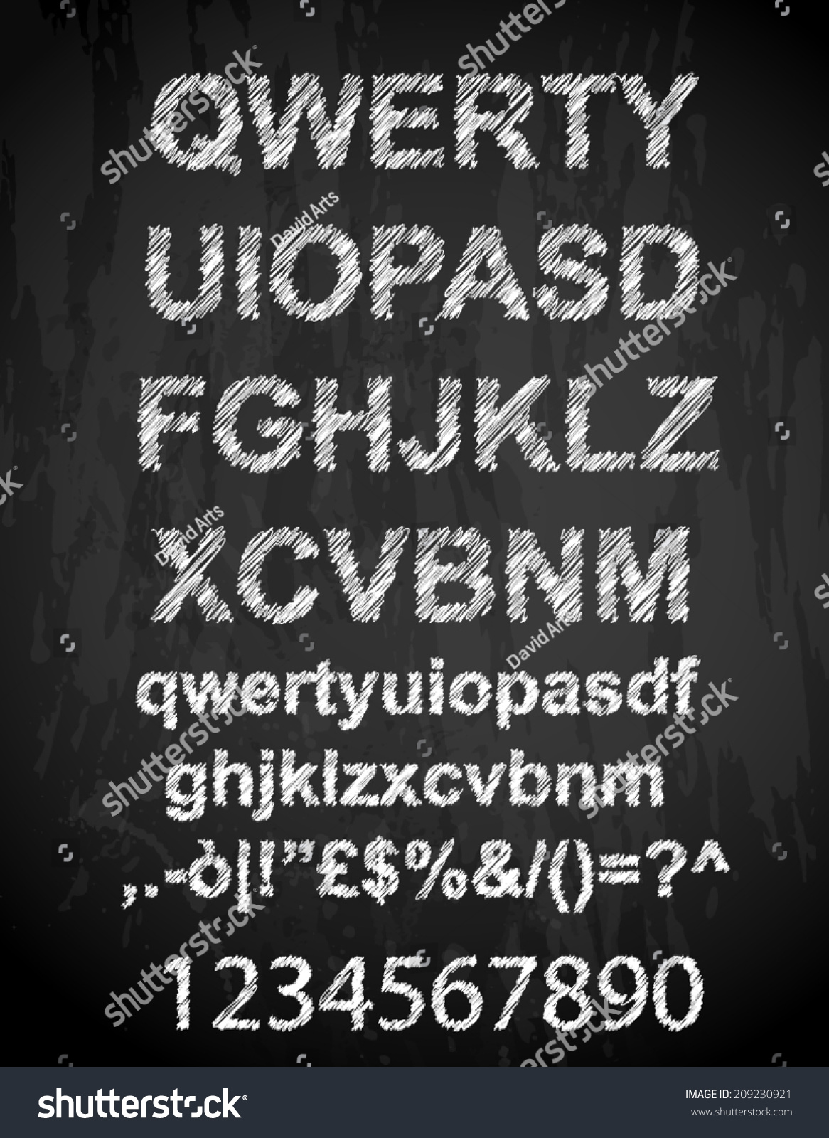 Scribble alphabet pen sketch effect uppercase stock vector scribble alphabet with pen sketch effect uppercase numbers and all symbols included biocorpaavc
