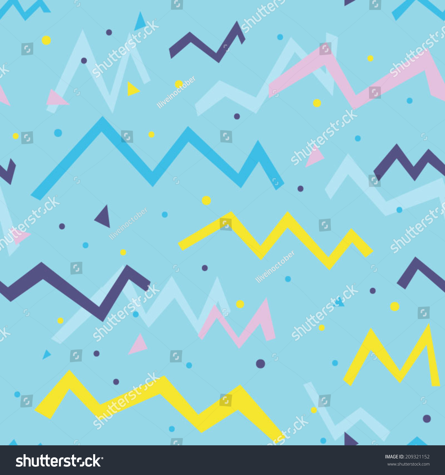multicolored fun seamless pattern party bright stock vector royalty