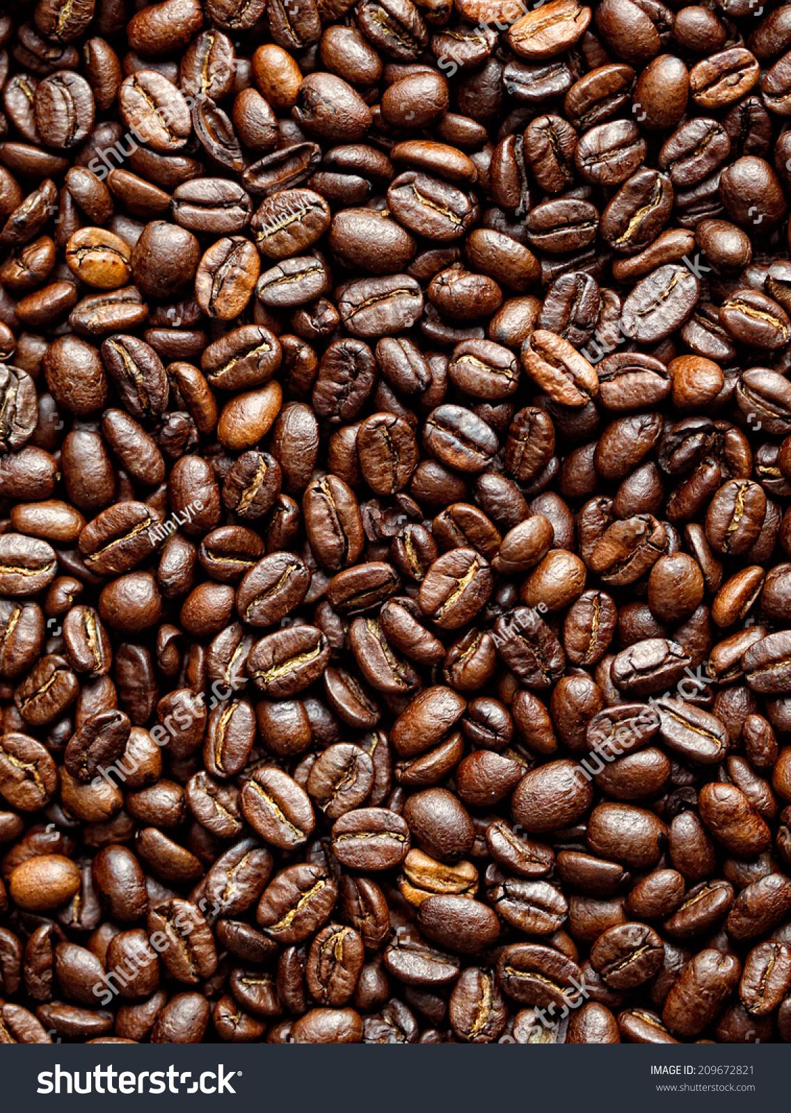 coffee grains stock photo 209672821 shutterstock. Black Bedroom Furniture Sets. Home Design Ideas