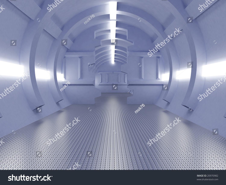 High resolution image interior spaceship 3d illustration for High resolution interior images
