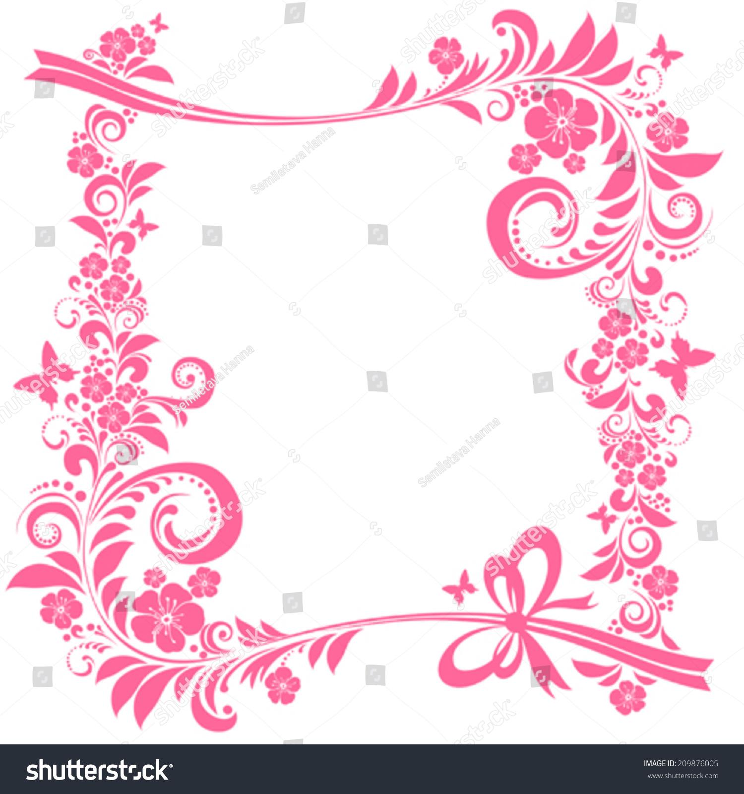 pink frame designs pink frame design