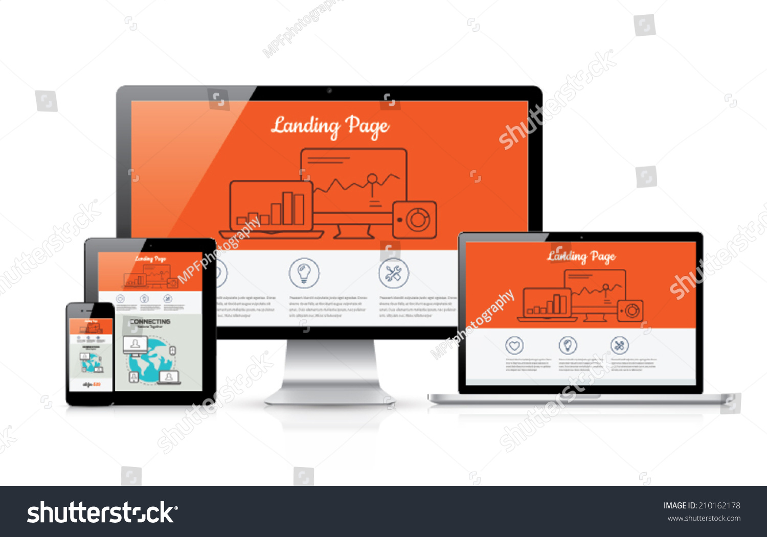responsive landing pages