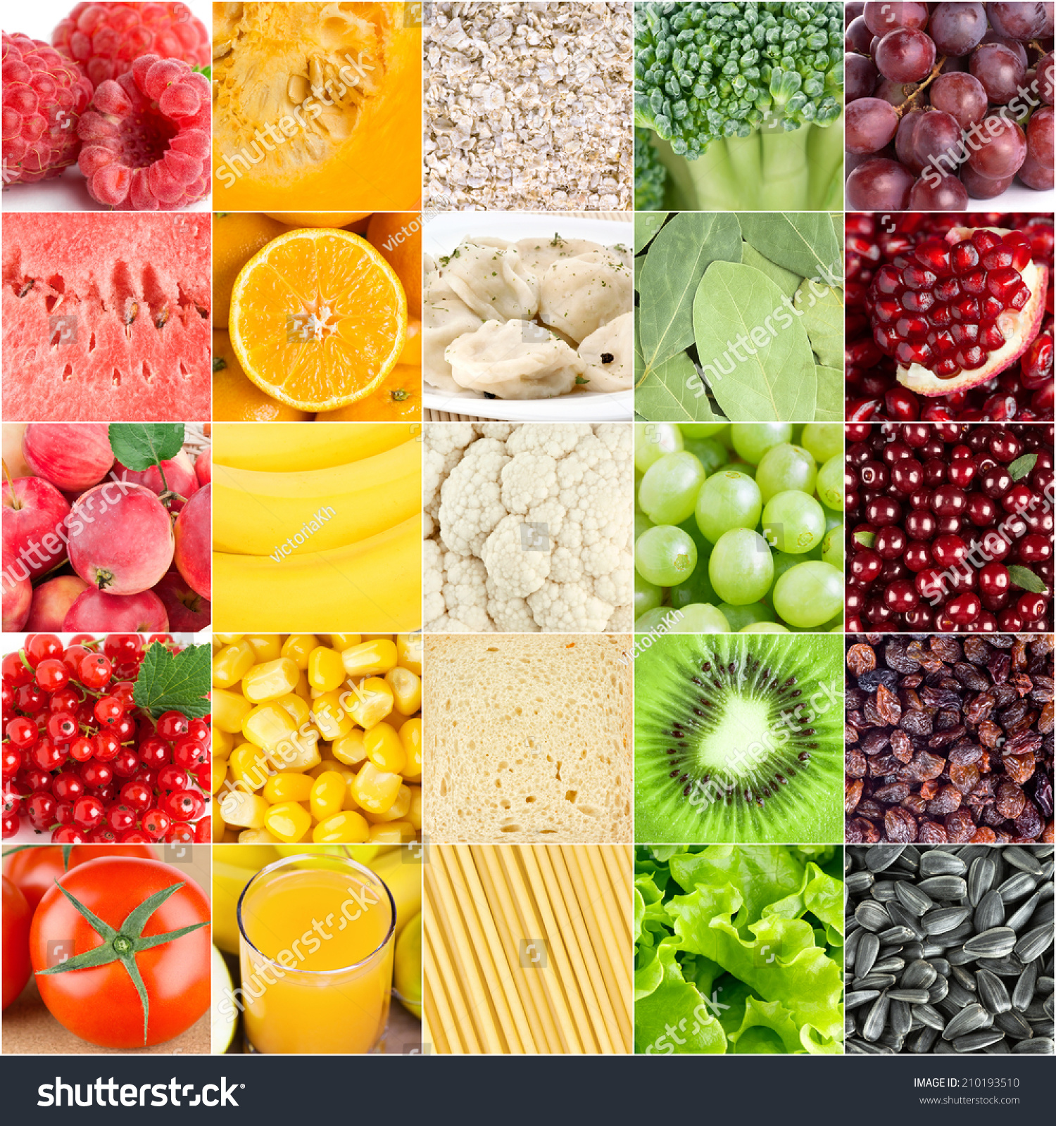 Image result for different color foods