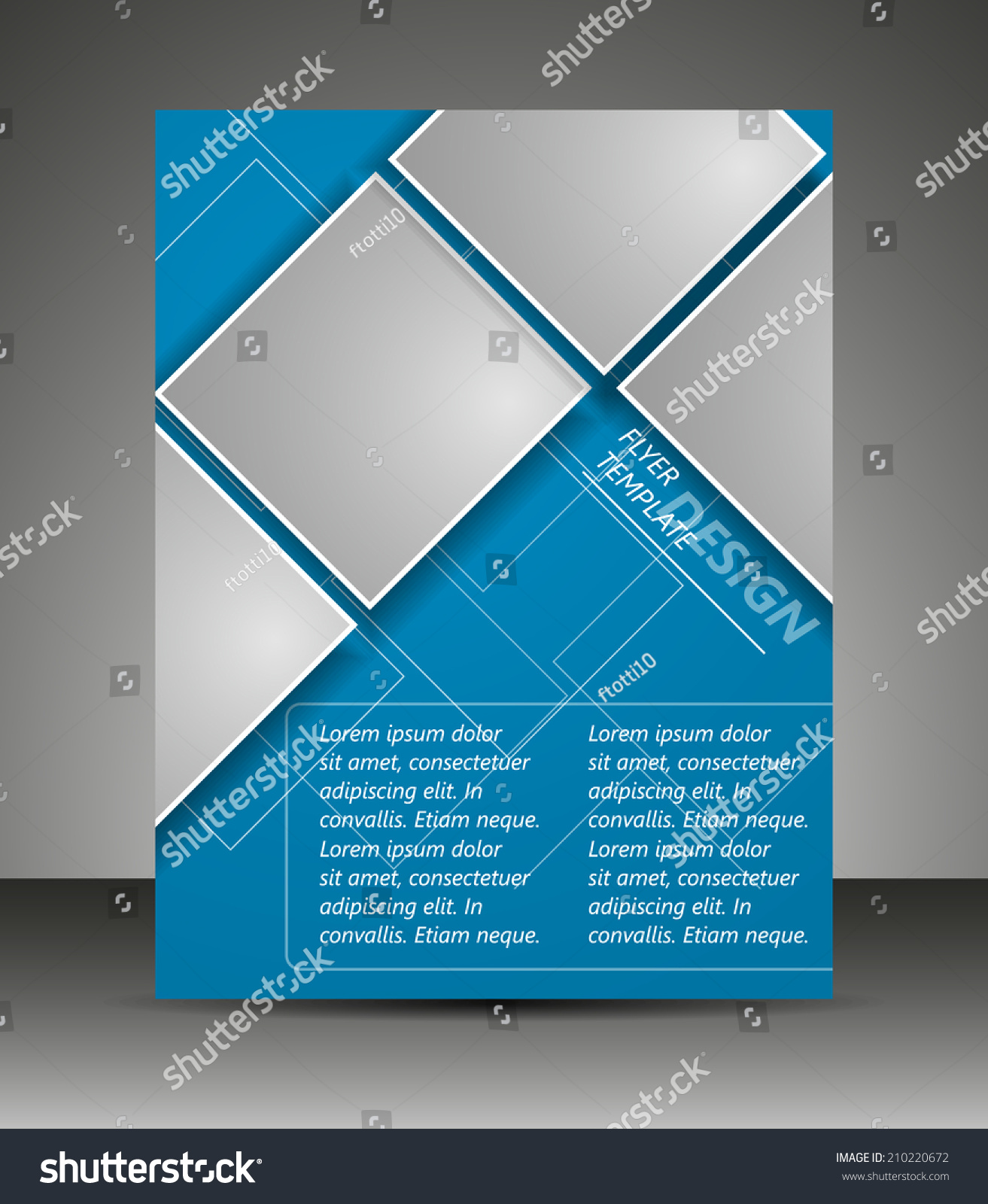 Professional Business Flyer Template Corporate Bannerdesign Stock