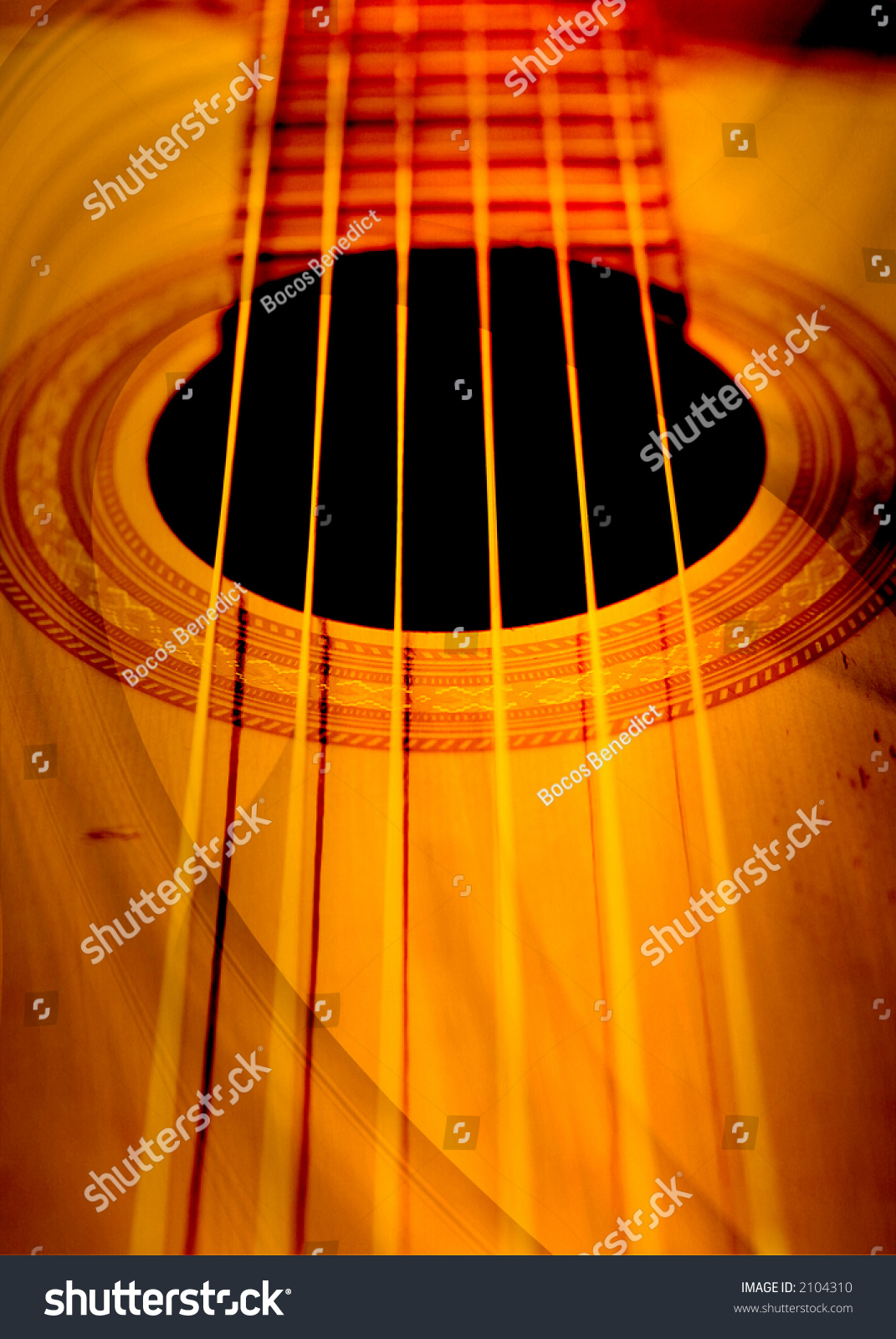 abstract guitar composition stock photo 2104310 shutterstock. Black Bedroom Furniture Sets. Home Design Ideas